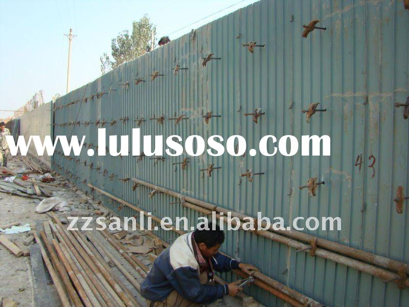 2011 Best price and low carbon plastic formwork panel for concrete