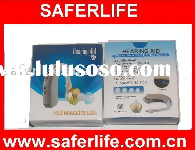 2011 NEW Hearing aid Mini Promotional health care products Behind the ear Hearing aid new design