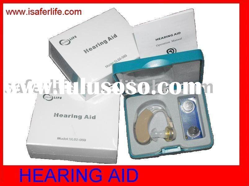 2011 New Hot sale Behind the ear Hearing aid Mini Hearing Aid Promotional health care products price