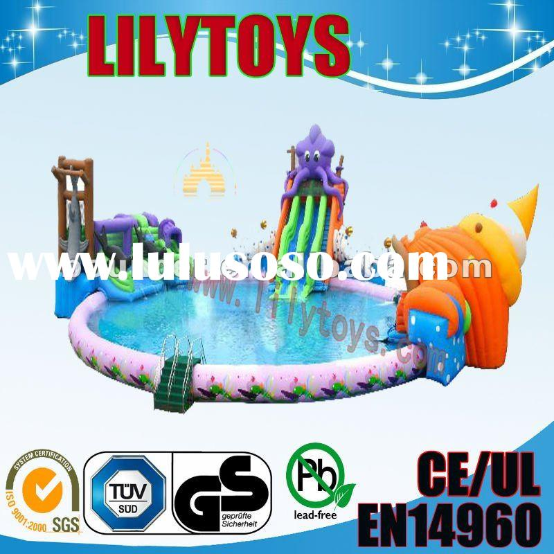 2011 Popular inflatable large swimming pool for kids,inflatable water games