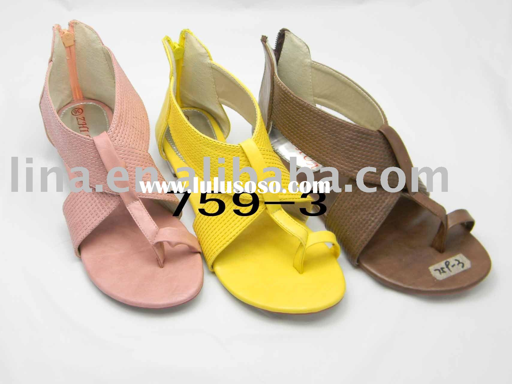 2011 the new styles and comfortable casual sandal shoes woman