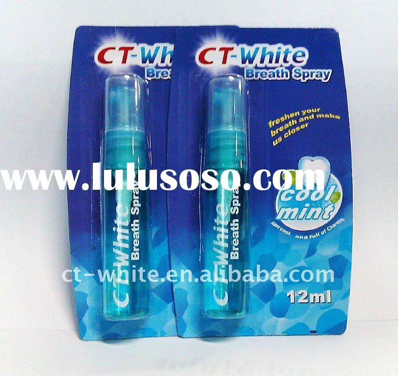 2012 CT-white mouth freshener for breath remedy