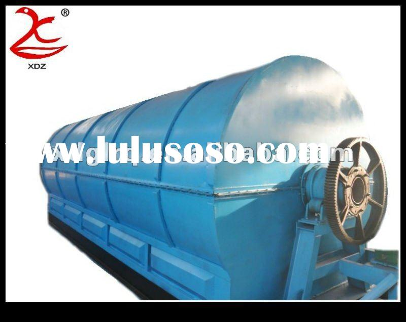 2012 Hot Selling! Waste Plastic Pyrolysis Equipment for Recycling