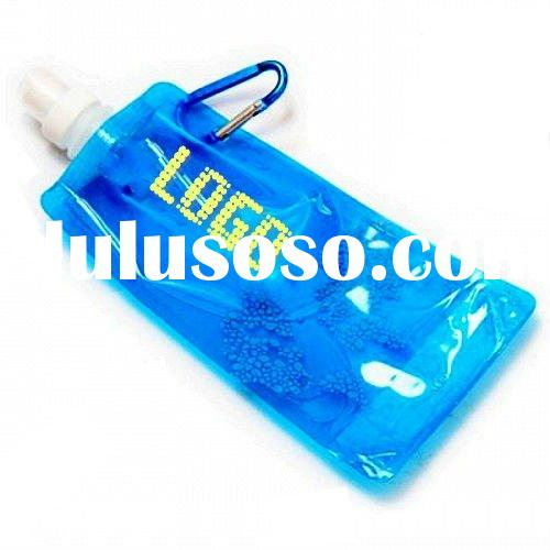 2012 New arrival plastic foldable water bottle (LFFB-118101)