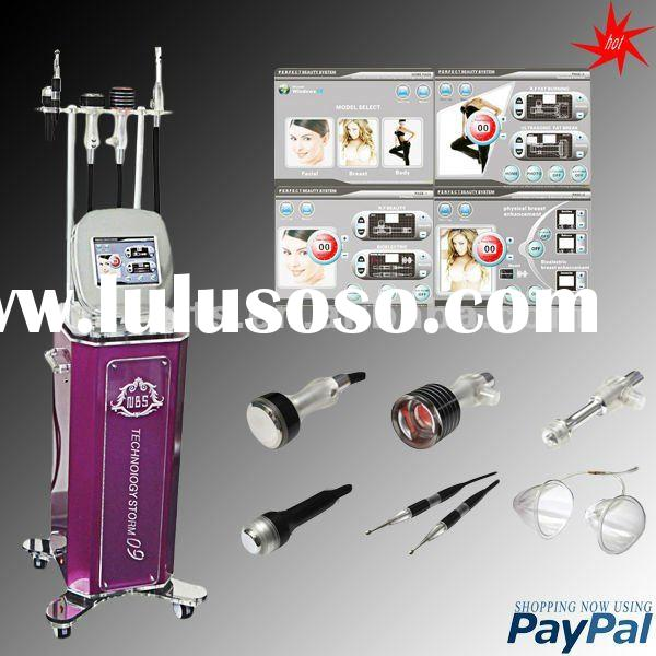 2012 Slimming equipment with new design,ultrasound&rf&vacuum&ice cooling&electrostim