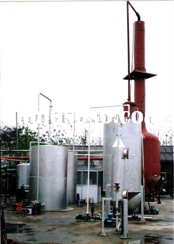 2012 high profit waste oil refinery process recycling equipment for diesel oil of ZL-3 cap 100MT/D