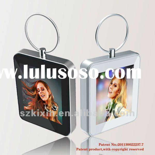 2012 hot sales! Keyring Digital photo frame (patent unit)