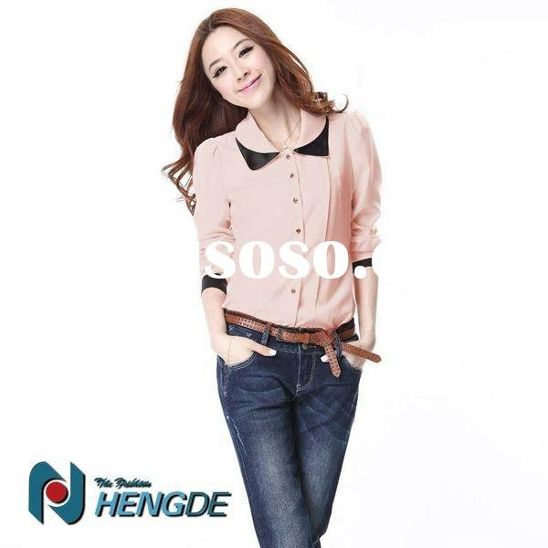 2017 New Product Office Wear Shirts For Women Ows11