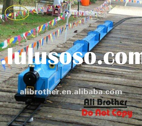 2012 new track train, battery train, funny train with CE approve /Best made electric mini train with