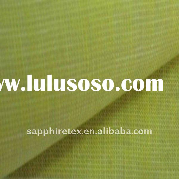 21*21/56*54 100% light green yarn dyed stripe linen flax fabric