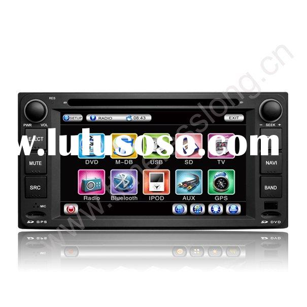 2 Din Car DVD Player for TOYOTA VIOS /Corolla EX / with built-in GPS, Dual Zone, RDS,DVB-T, Steering