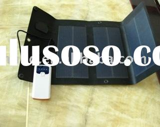 2sc1-3 3w Flexible amorphous silicon solar panel charger bag