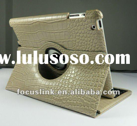 360 Degree Rotating Bluetooth Keyboard Case for iPad 2