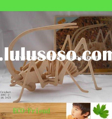 3D Wooden insect jigsaw puzzles