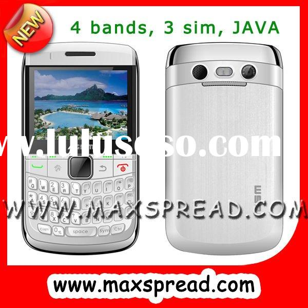 4sim tv mobile phone with pinhole camera qwerty MAX-8980