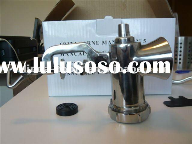 5# stainless steel home used manual meat grinder/meat mincers
