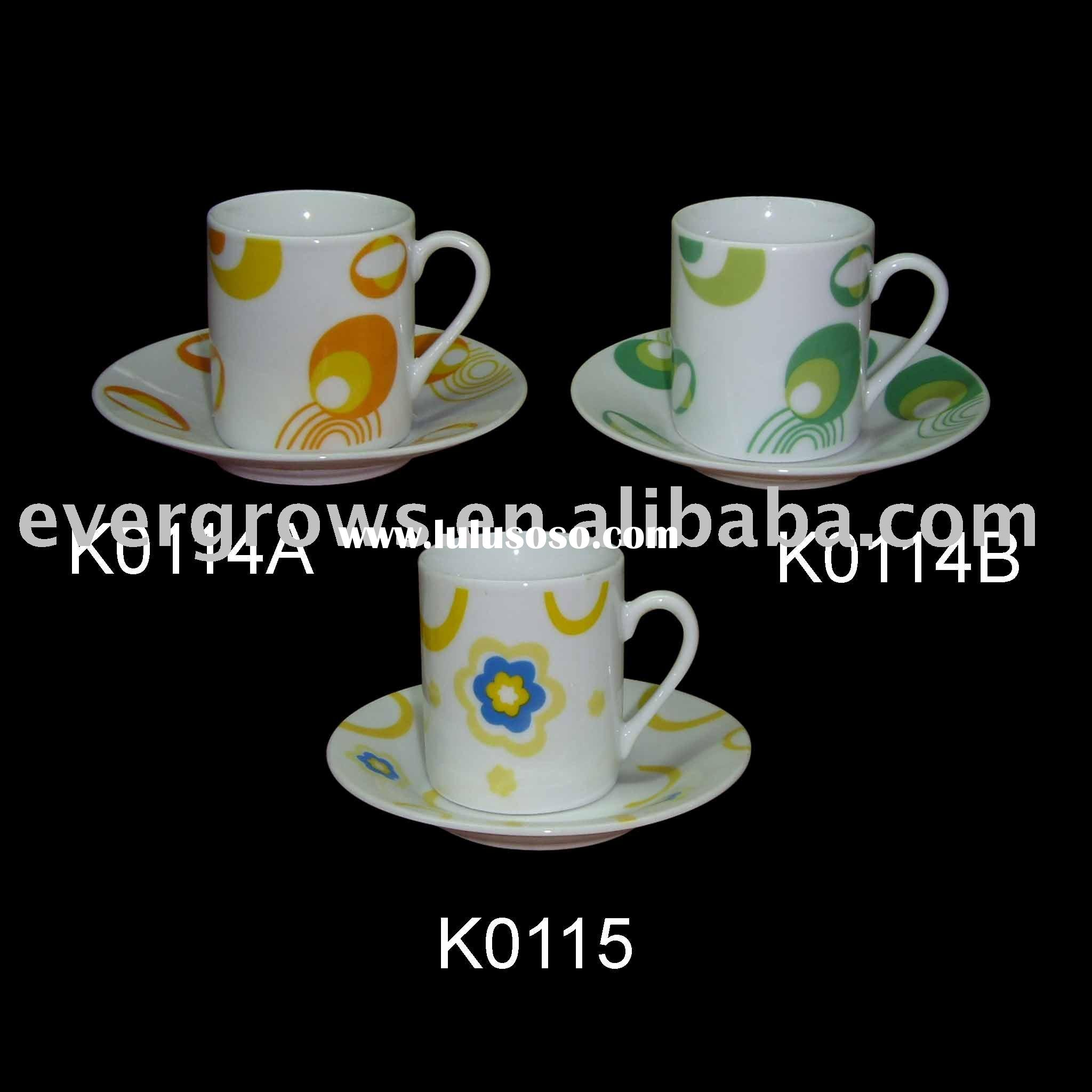 80cc espresso cup and saucer