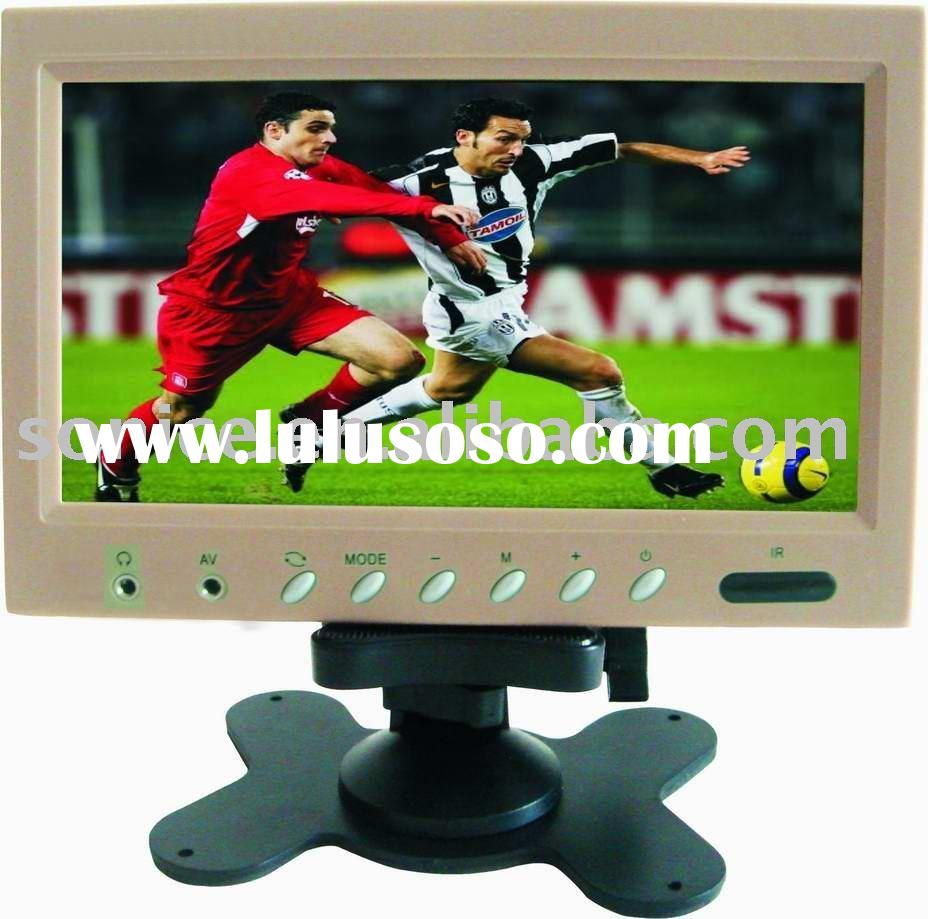 "9"" Car LCD TV Stand Alone Monitor with Speaker"