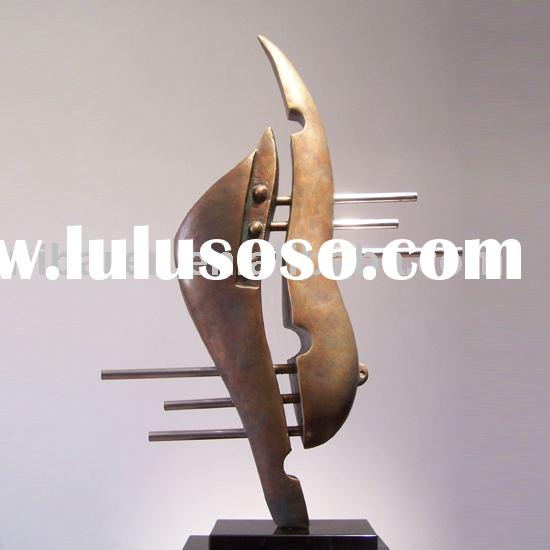 Abstract Bronze Sculpture for home decoration