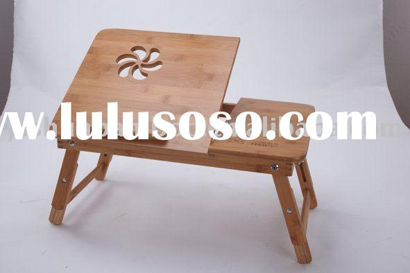 Adjustable and Foldable Laptop Bed Table