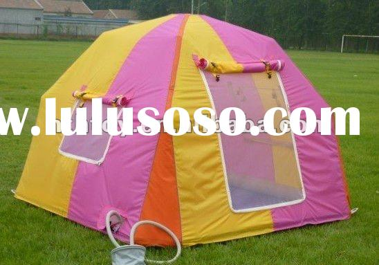 Air Blown PVC Structure Camping Tent Inflated Tent