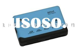 All-in-1 Memory Card Reader with RTS 5130 or RTS5158 Optional Chipset, Convenient for Notebook Users