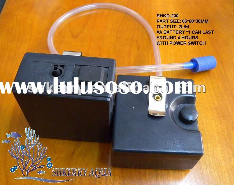 Aquarium DC air pump / Aquarium battery air pump / DC air pump