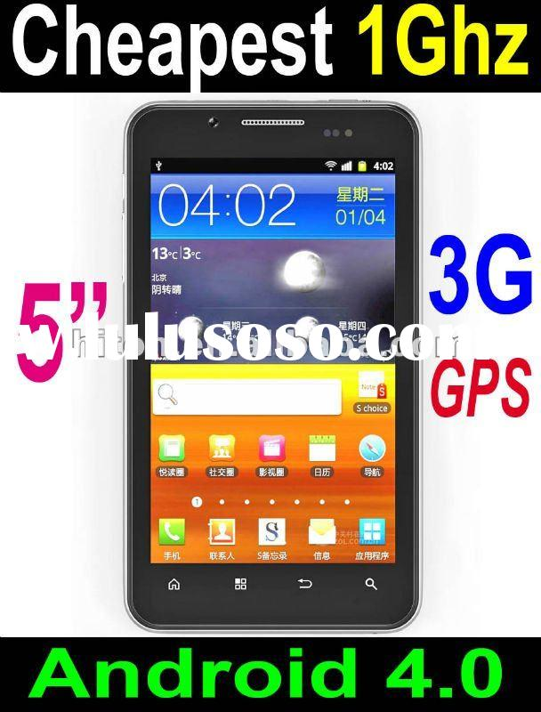 BEST 5 inch 1Ghz Mobile Phone with Android 4.0