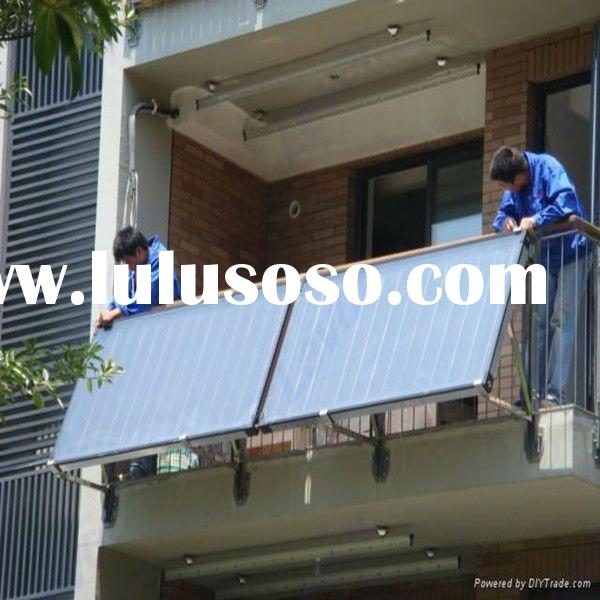 Balcony Hanging Flat Plate Split Pressurized Solar Water Heater