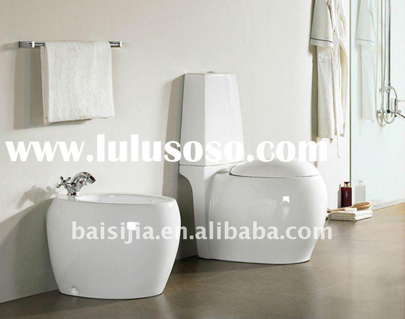 Bathroom ceramic two piece water closet toilet (BSJ-T029)