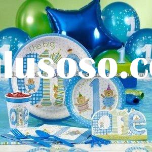 Boys Big One Party Supplies - kids party supplies, 1st birthday party supplies, favors & decorat