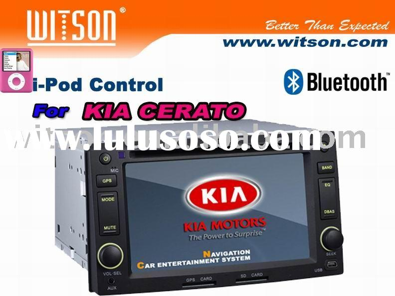 CAR DVD WITSON Special Car DVD Player For KIA CERATO with Built-in GPS/Bluetooth/iPod control/DVB-T