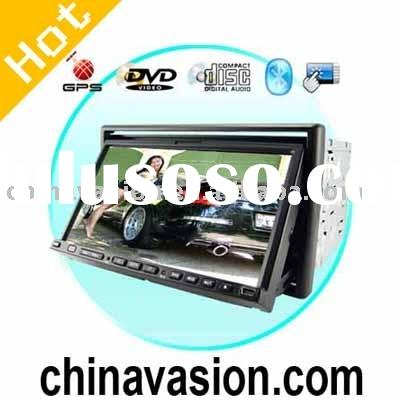 Car DVD, 7 Inch Touch Screen Car DVD Player and GPS Navigator