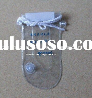 Cell phone waterproof bag,pvc material,waterproof pouch