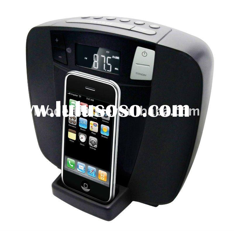 DAB+ DAB/FM Radio with iPhone iPod Docking