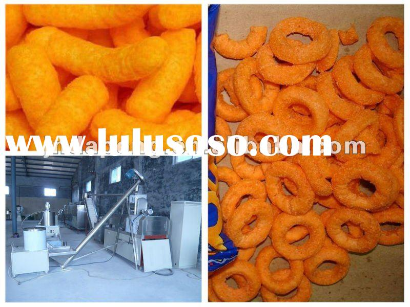 DP70 cheese puffy corn chips making machinery/equipment extruder /processing line/ production plant