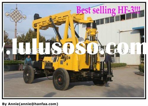 Drilling machine for Sale!!China Gold Supplier,bore hole wells,Hydraulic HF-3 water rig
