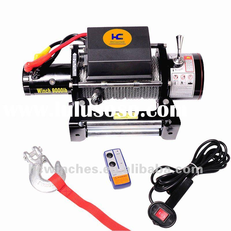 Electric Windlass Anchor Winch Car Winches 9000lb