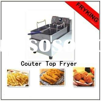 Electric tabe top one tank fryer