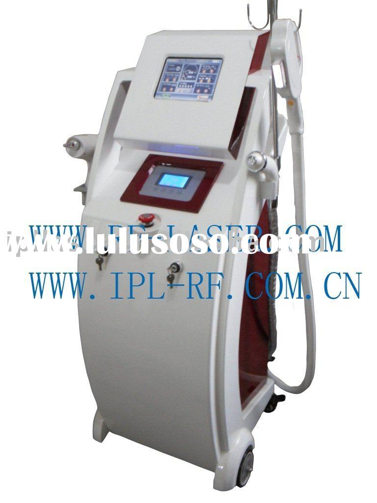Elight ipl 2 in 1 beauty salon equipment for hair removal Laser Q-switched ND:YAG