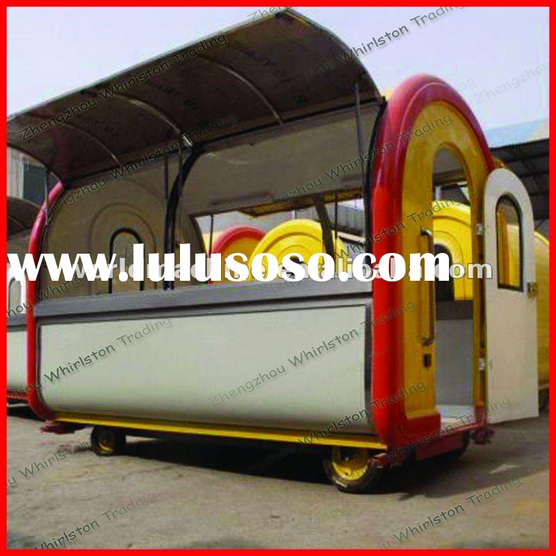 Extra Large Mobile Fast Food Vending Carts for Sale