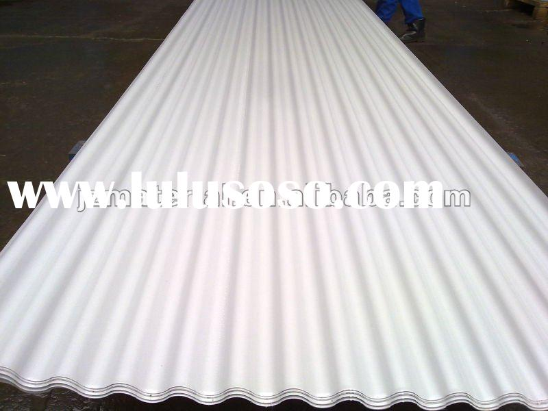 FACTORY CORRUGATED COLORED/GALVANIZED/ZINC/ALUMINUM ROOFING SHEET