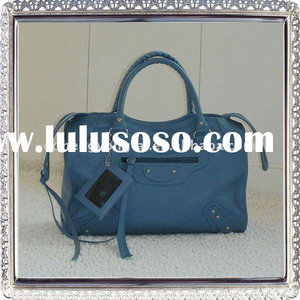 Fashion Brand Design Genuine Leather Handbag shoes and bags to match