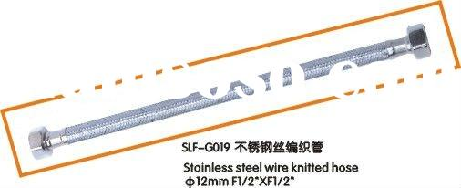 Flexible braided stainless steel water supply hose