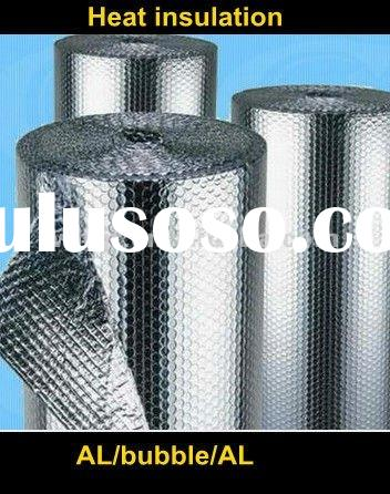 Foil bubble heat insulation sheet for roof and wall