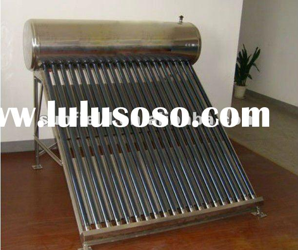 Food Grade 304-2B Stainless Steel Solar Water Heater