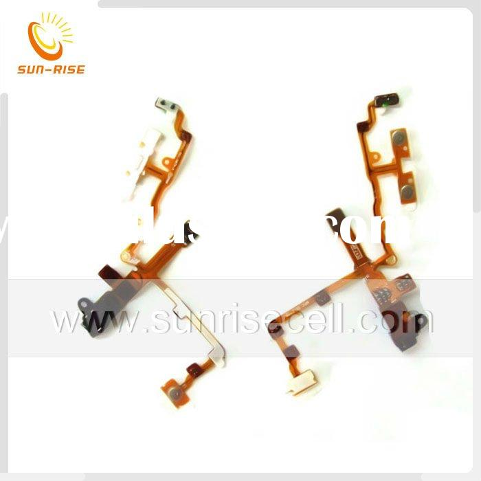 For Apple iphone 3G on off audio flex cable Black or white Original