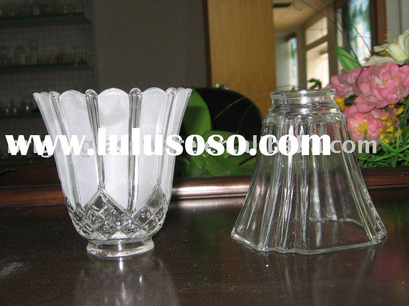 Frost Glass lighting lamp shade and hurricane lamp