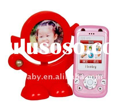 GPS GSM Tracker for kids mobile cell phone Q9(S89) GPS SOS Torch kids phone