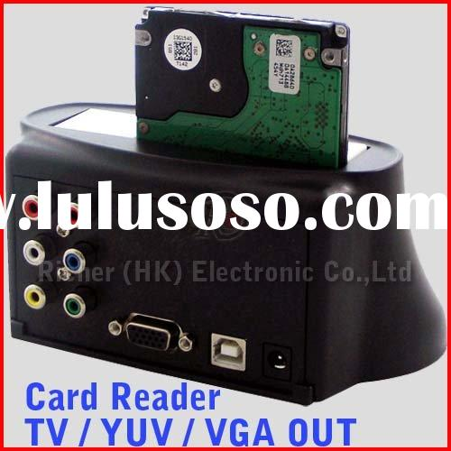 HDD Media player With Card Reader Hdd Docking Station